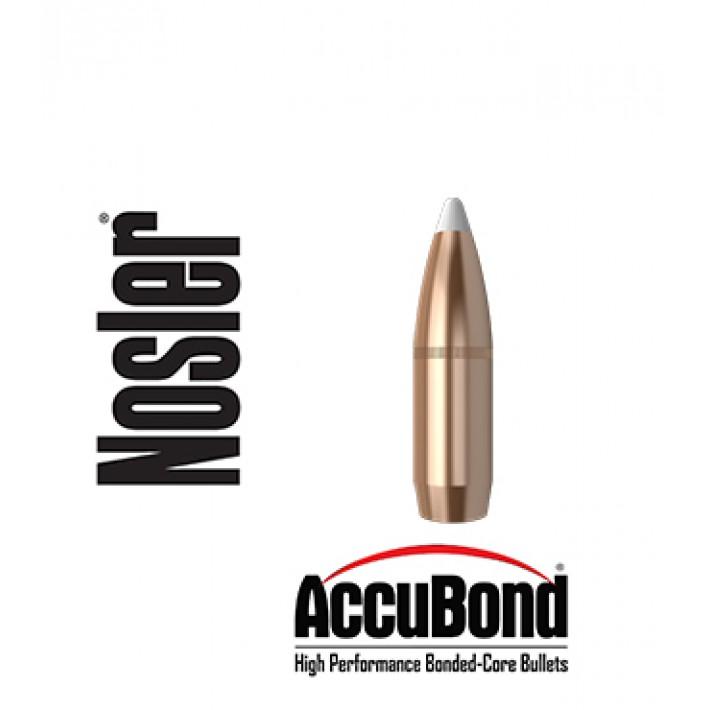 Puntas Nosler Accubond calibre .375 - 300 grains con canal de crimpado