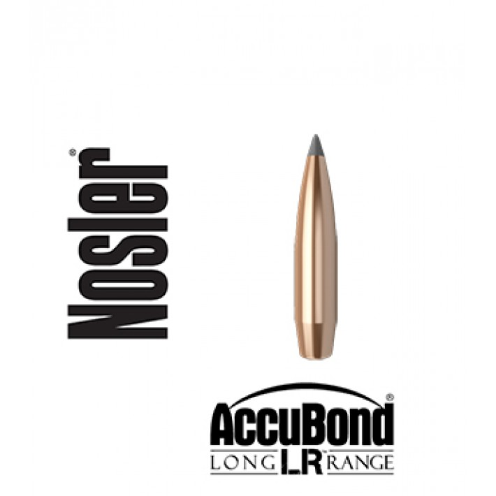 Puntas Nosler Accubond Long Range calibre .284 (7mm) - 175 grains