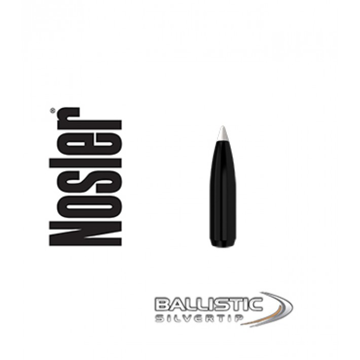 Puntas Nosler Ballistic Silvertip .243 (6mm) - 95 grains