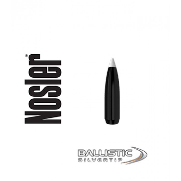 Puntas Nosler Ballistic Silvertip .277 (6.8mm) - 130 grains