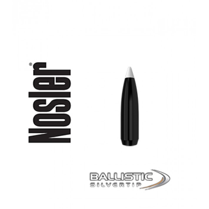 Puntas Nosler Ballistic Silvertip .284 (7mm) - 140 grains