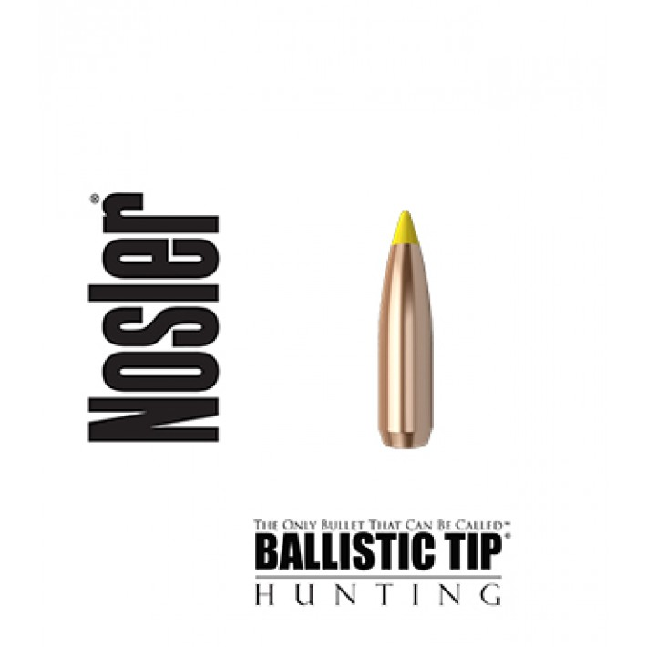 Puntas Nosler Ballistic Tip calibre .277 (6.8mm) - 130 grains