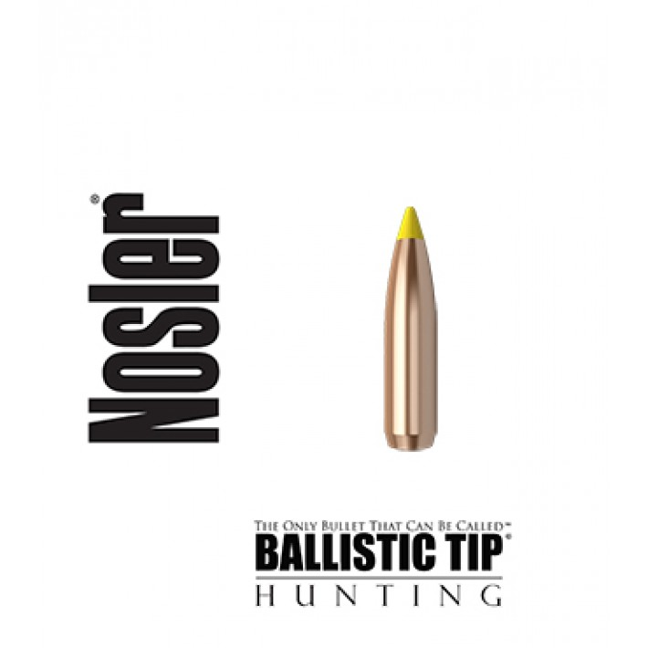 Puntas Nosler Ballistic Tip calibre .277 (6.8mm) - 140 grains