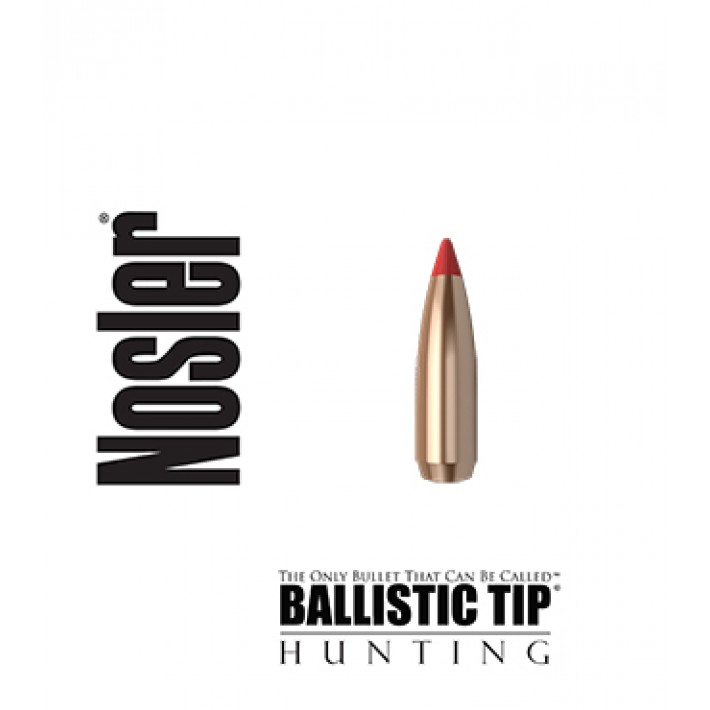 Puntas Nosler Ballistic Tip calibre .284 (7mm) - 120 grains