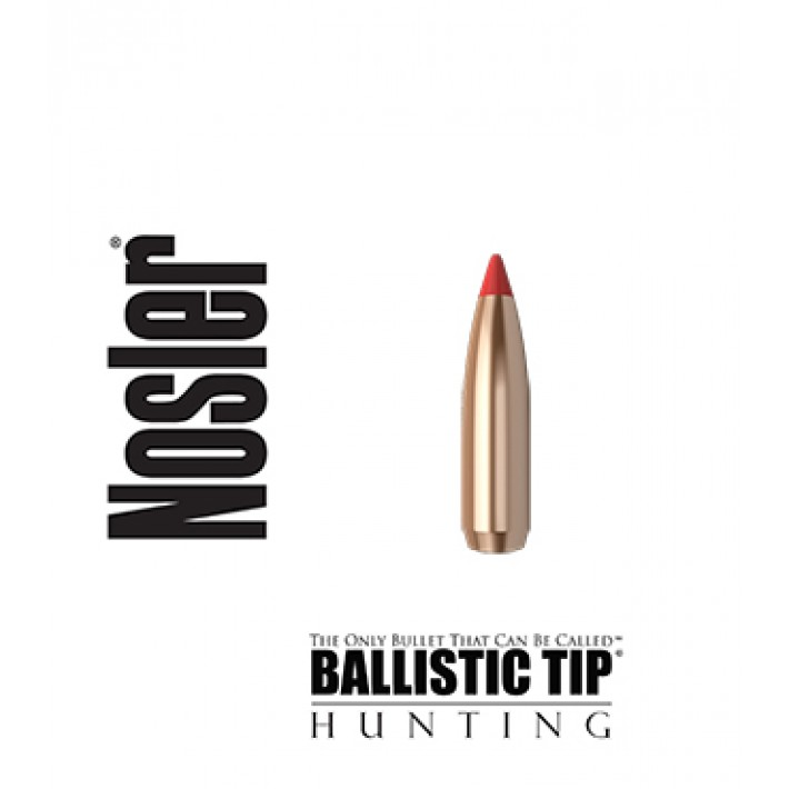 Puntas Nosler Ballistic Tip calibre .284 (7mm) - 140 grains
