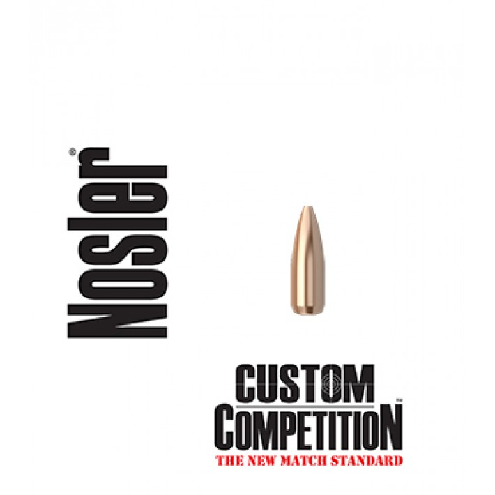 Puntas Nosler Custom Competition HPBT calibre .224 - 52 grains