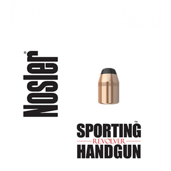 Puntas Nosler Sporting Handgun Revolver JHP calibre .44 (.429) - 240 grains 250 unidades