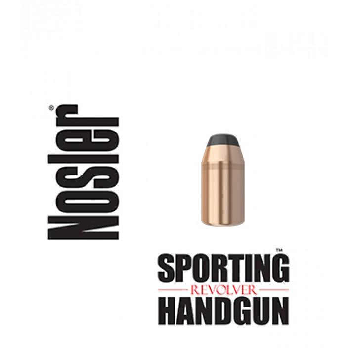 Puntas Nosler Sporting Handgun Revolver JHP calibre .44 (.429) - 300 grains