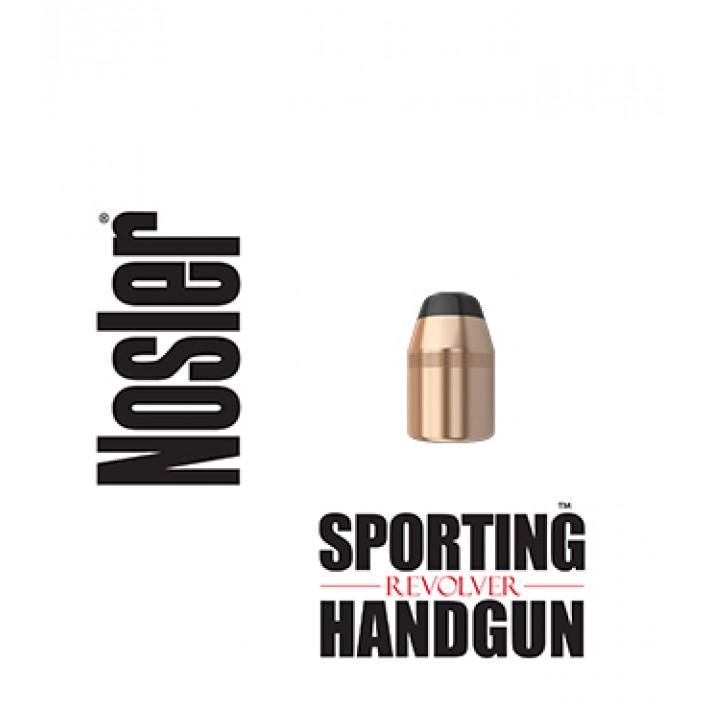 Puntas Nosler Sporting Handgun Revolver JSP calibre .44 (.429) - 240 grains 250 unidades