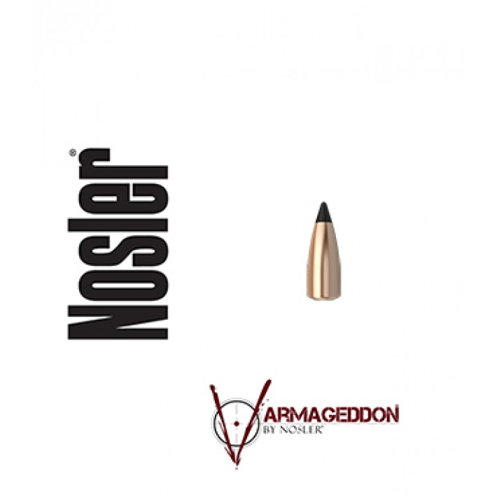 Puntas Nosler Varmageddon calibre .224 - 40 grains