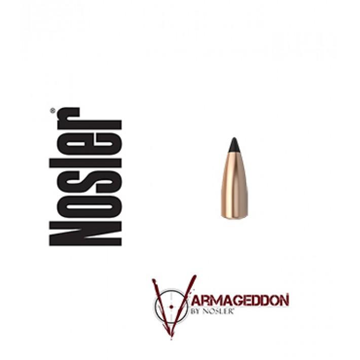 Puntas Nosler Varmageddon calibre .243 (6mm) - 55 grains