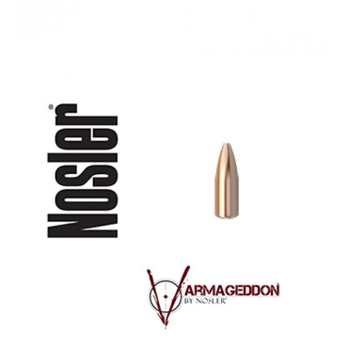 Puntas Nosler Varmageddon HPFB calibre .224 - 55 grains 1.000 unidades