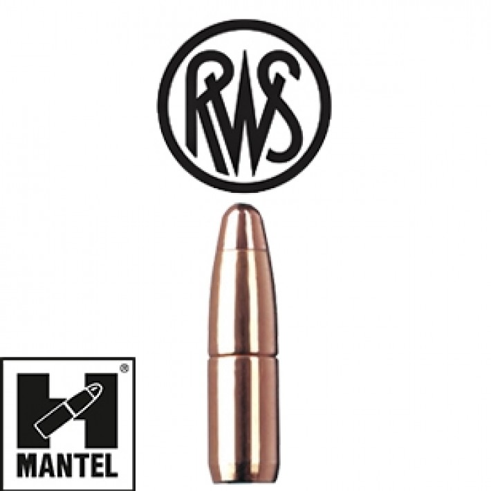 Puntas RWS H-Mantel calibre .277 (6.8mm) - 130 grains - 50 unidades