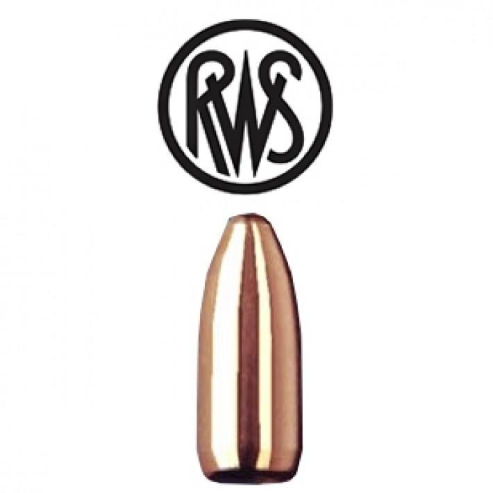 Puntas RWS MJ FMJ calibre .224 - 46 grains - 100 unidades