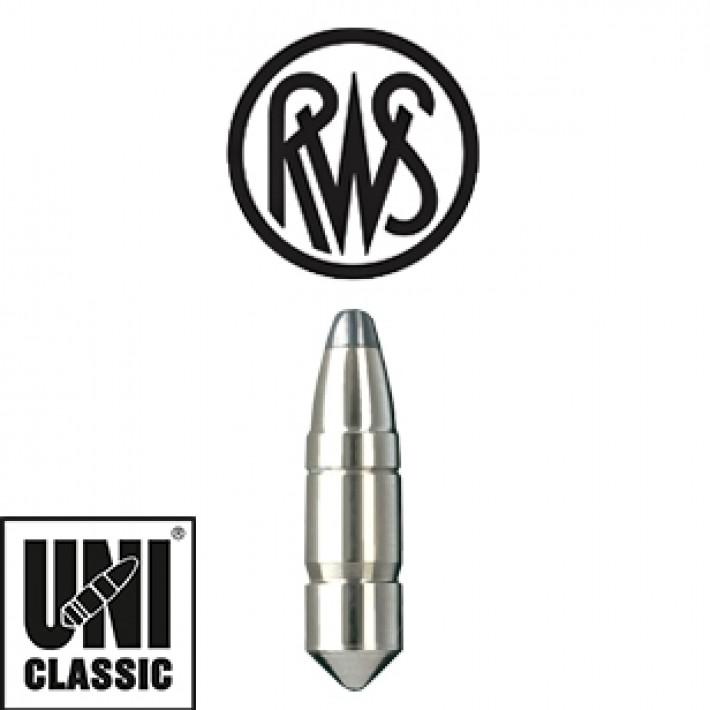 Puntas RWS UNI Classic calibre .366 (9,3mm) - 293 grains - 50 unidades