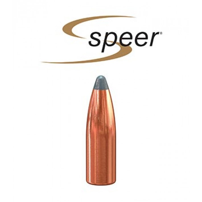Puntas Speer Boat Tail JSP calibre .243 (6mm) - 85 grains 100 unidades