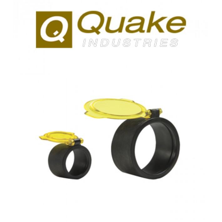 Tapa para visor Quake Bushwacker 62.2-66.6 mm ámbar