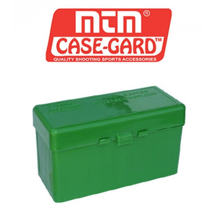 Caja para munición MTM R50 Flip Top para 50 cartuchos
