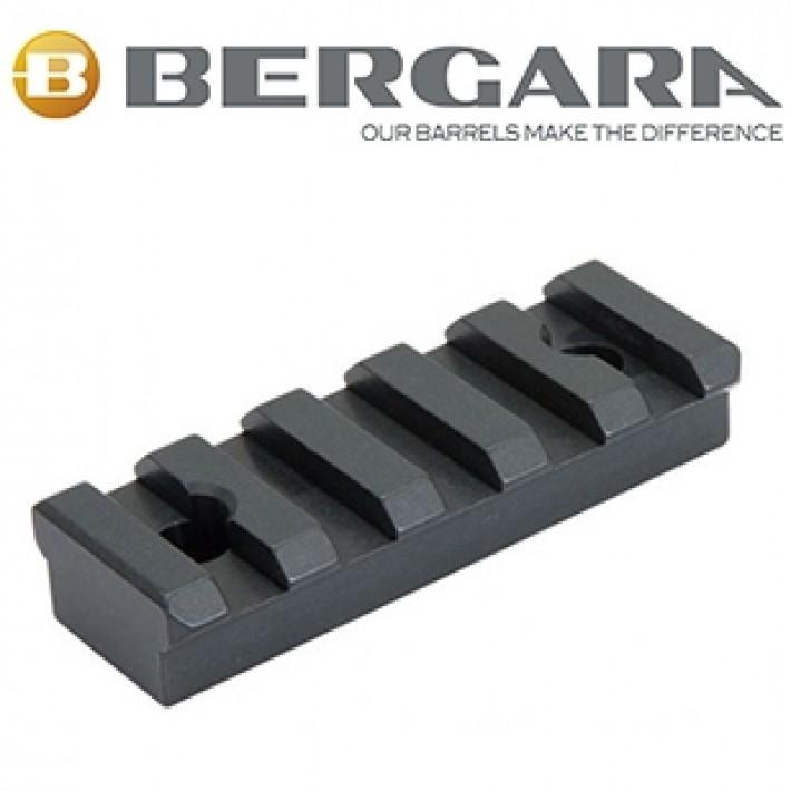 Raíl picatinny inferior de monopod para Bergara B14 BMP