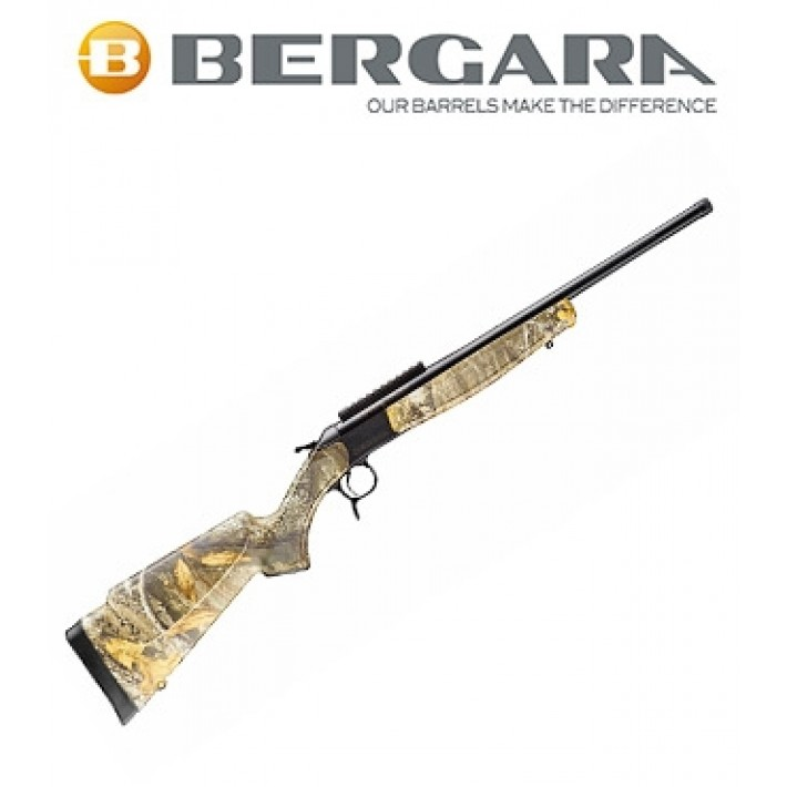 Rifle monotiro Bergara BA13 Take Down con culata camo Realtree Edge