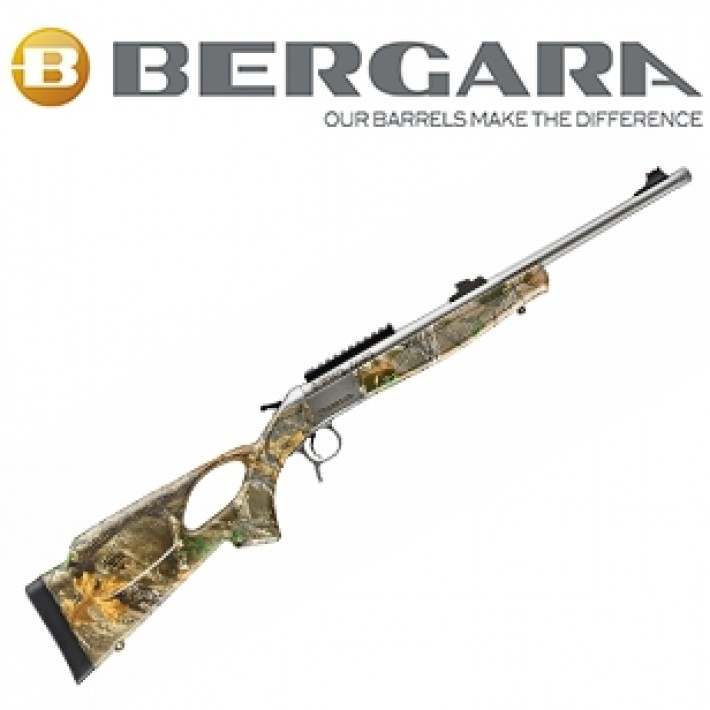 Rifle monotiro Bergara BA13 Take Down con culata Thumbhole camo Realtree Edge