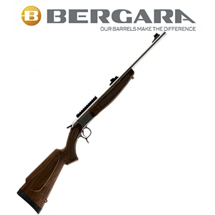 Rifle monotiro Bergara BA13 Take Down con culata simil madera