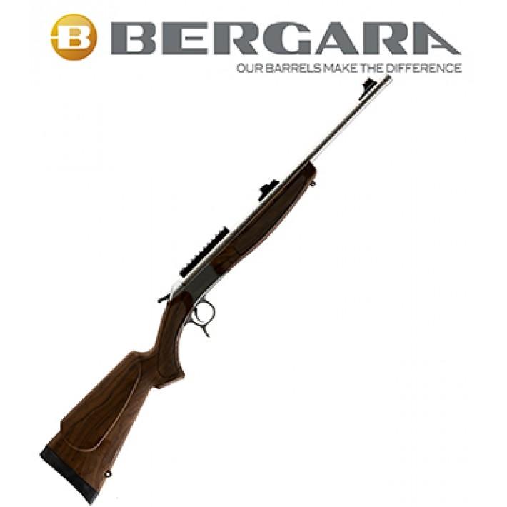 Rifle monotiro Bergara BA13 Take Down con culata simil madera