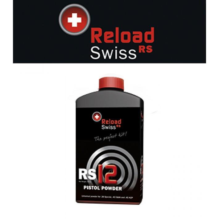Pólvora Reload Swiss RS12 - 0.5 kg