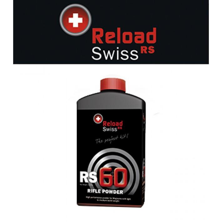 Pólvora Reload Swiss RS60 - 1 kg