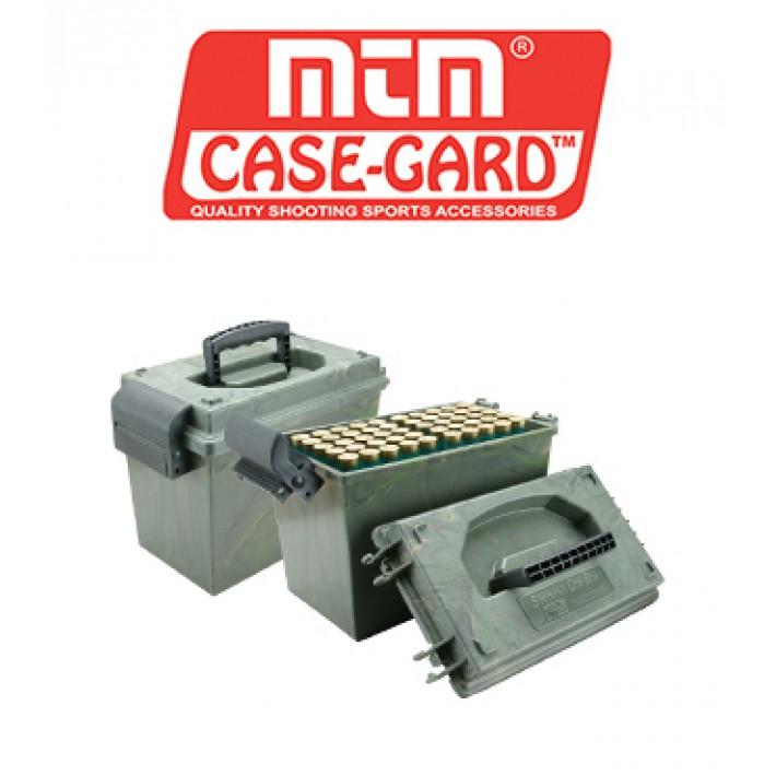 Caja para munición de escopeta MTM para 100 cartuchos calibre 12 - Serie SD