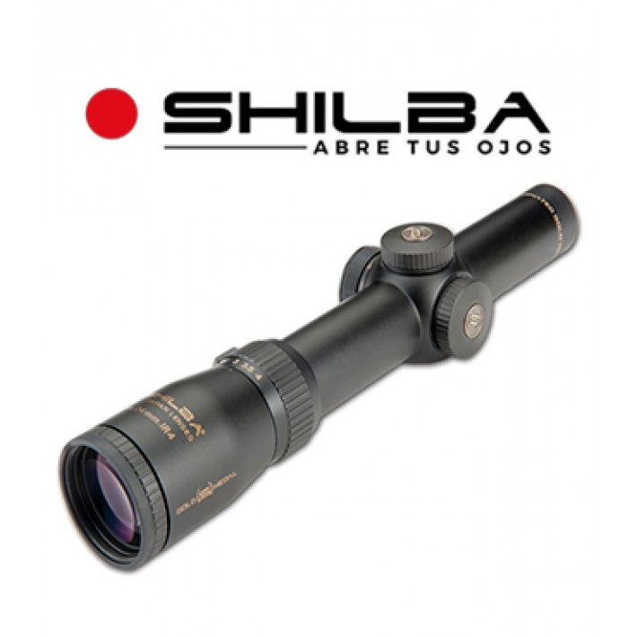 Visor Shilba Gold Medal 1-4x24 de 30mm con retícula IRG3