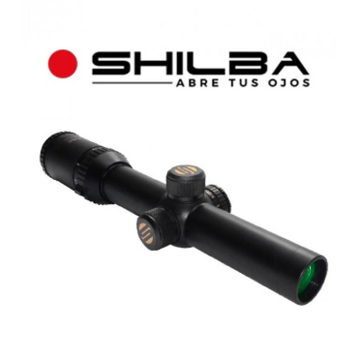 Visor Shilba Safari RD 30 1,25-4,5x24 de 30mm con retícula R4 punto rojo