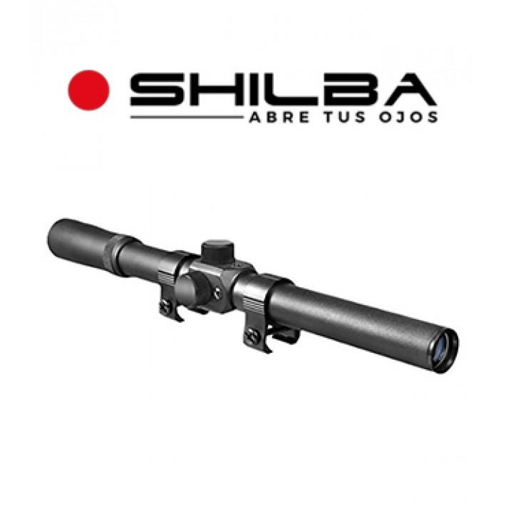 "Visor Shilba Rimfire 4x20 de 1"" con retícula Cross Air"