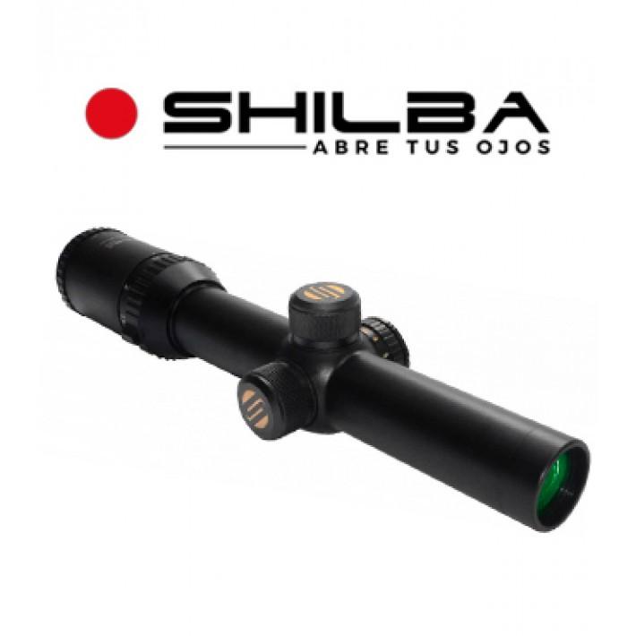 Visor Shilba Safari Max 1,5-6x24 de 30mm con retícula R4 punto rojo