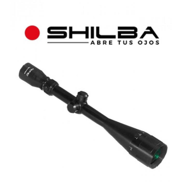 """Visor Shilba Target 6-24x50 AO de 1"""" con retícula Mil Dot"""