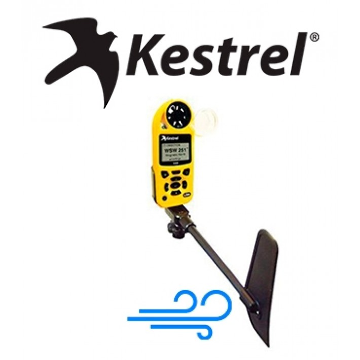 Soporte giratorio con indicador de dirección de viento Kestrel para serie 5000