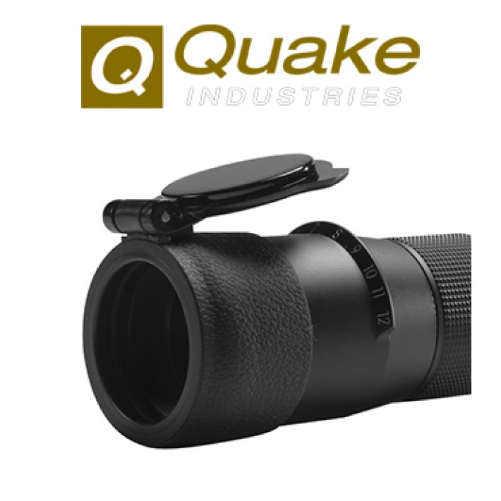 Tapa para visor Quake Bushwacker 62.2-66.6 mm negra