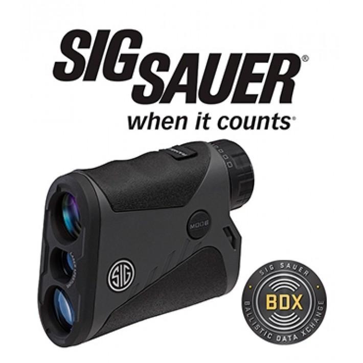 Telémetro Sig Sauer Electro Optics Kilo 1400 6x20 con BDX