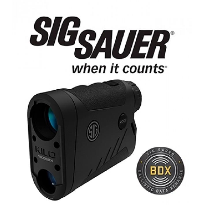 Telémetro Sig Sauer Electro Optics Kilo 1800 6x22 con BDX