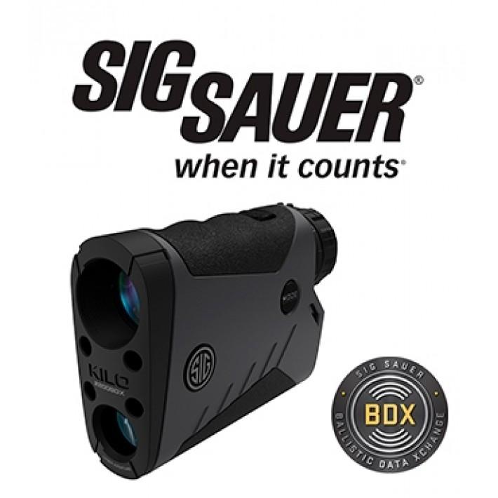 Telémetro Sig Sauer Electro Optics Kilo 2200 7x25 con BDX