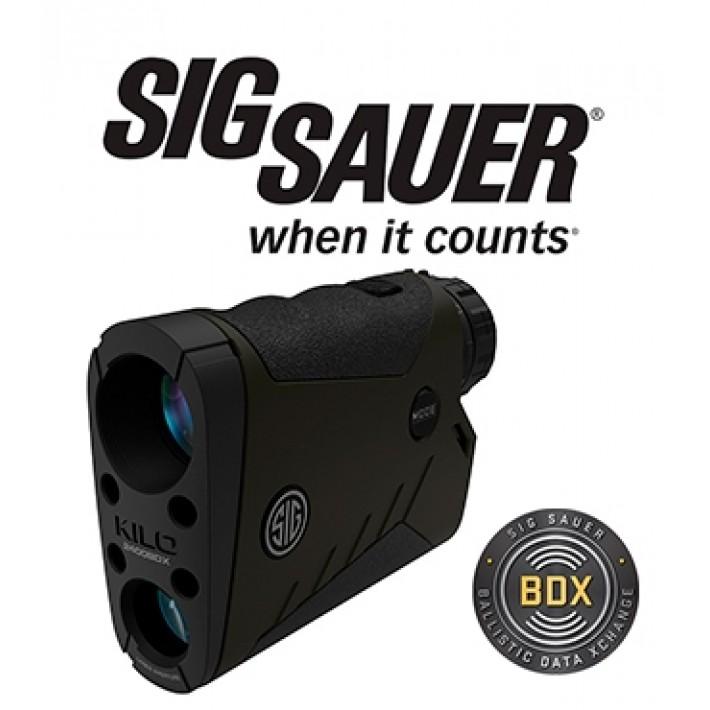 Telémetro Sig Sauer Electro Optics Kilo 2400 7x25 con BDX