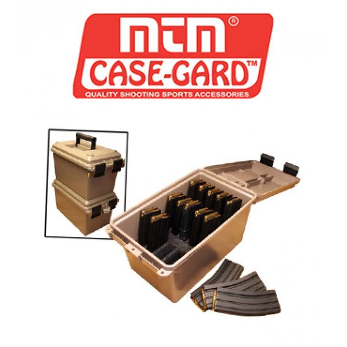 Caja para munición MTM Tactical Mag Can para 15 cargadores calibre .223