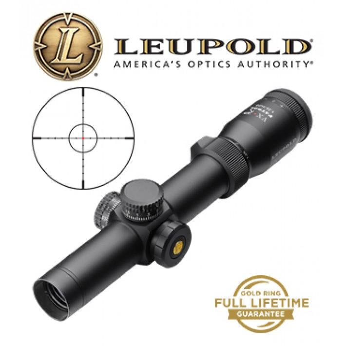 Visor Leupold VX-R Patrol 1,25-4X20mm de 30mm mate con retícula Firedot SPR
