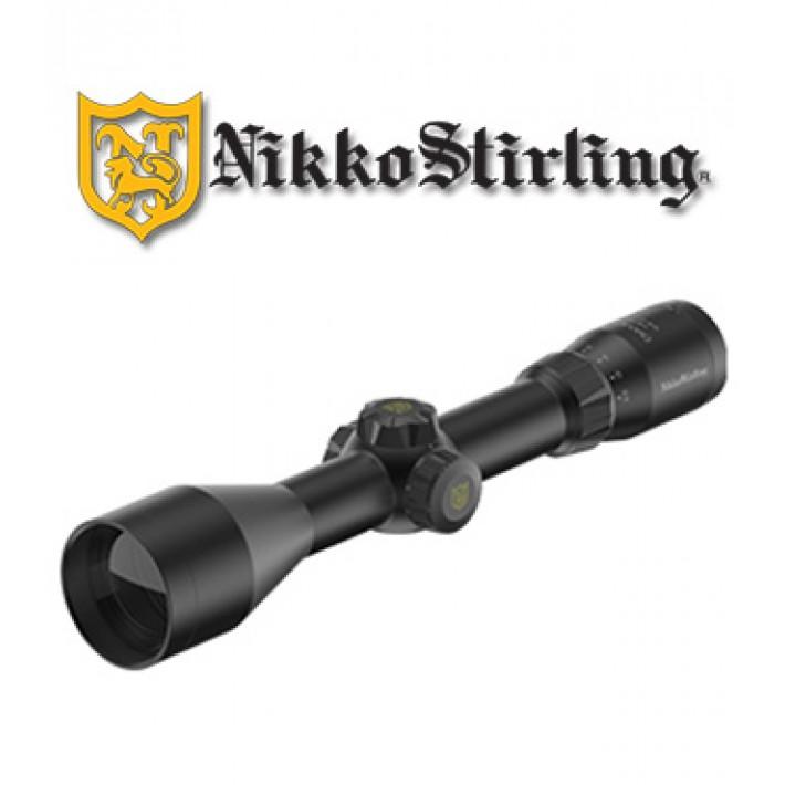 Visor Nikko Stirling Metor 2,5-10x50 de 30mm con retícula iluminada 4A