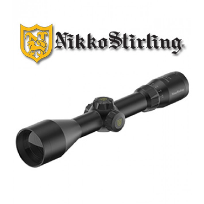 Visor Nikko Stirling Metor 3-12x56 de 30mm con retícula iluminada 4A