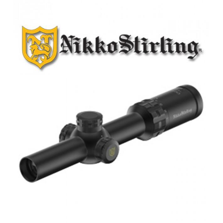 Visor Nikko Stirling Octa 1-8x24 de 30mm con retícula iluminada 4A