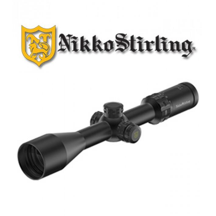 Visor Nikko Stirling Octa 2-16x50 de 30mm con retícula iluminada 4A
