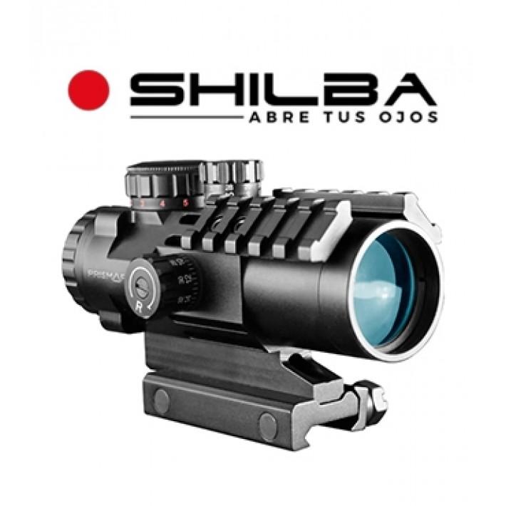 Visor punto rojo Shilba Prismafire 2,5x32 IR