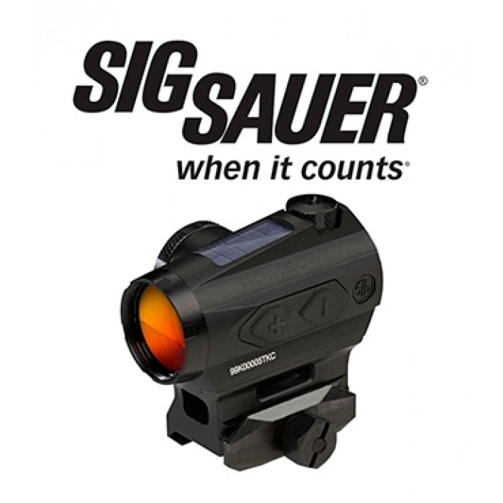 Visor punto rojo Sig Sauer Electro Optics Romeo 4T 1x20