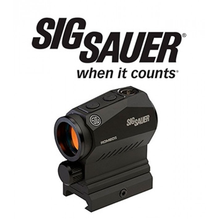 Visor punto rojo Sig Sauer Electro Optics Romeo 5 X Compact 1x20